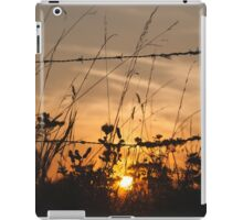 the end of the day iPad Case/Skin