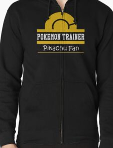 Pokemon Trainer - Pikachu Fan Zipped Hoodie