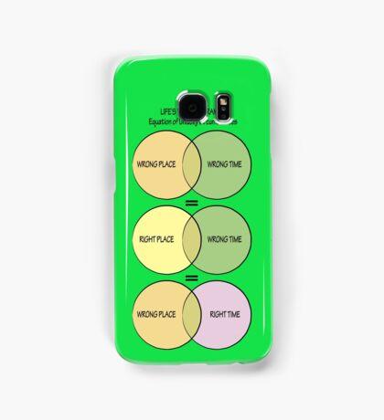 Life's Venn diagrams Samsung Galaxy Case/Skin