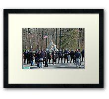 Riot Gear  Framed Print