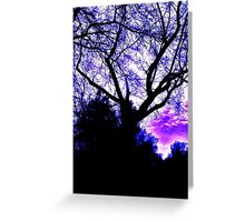 Azure Sky Greeting Card