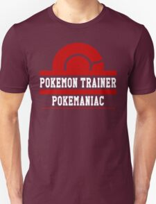 Pokemon Trainer - Pokemaniac T-Shirt