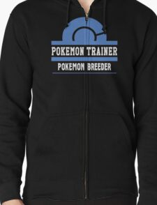 Pokemon Trainer - Pokemon Breeder Zipped Hoodie
