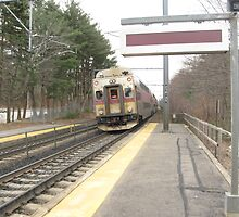 1706 MBTA Commuter Rail (Outbound)  by Eric Sanford