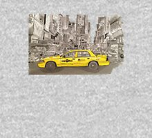 NYC - Times Square - Hand Drawn - Taxi - Cab Unisex T-Shirt