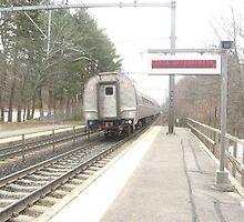 Back of Amtrak Regional by Eric Sanford