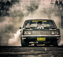 HOLDON Burnout by VORKAIMAGERY