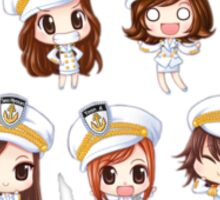 Girl's Generation being cute Sticker