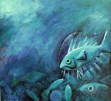 Beneath the sea by Karin Zeller