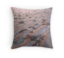 sand crabs on cable beach Throw Pillow