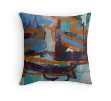 Immersed Inversion Throw Pillow
