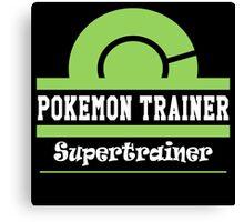Pokemon Trainer - Supertrainer Canvas Print