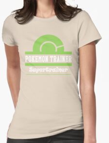 Pokemon Trainer - Supertrainer Womens Fitted T-Shirt