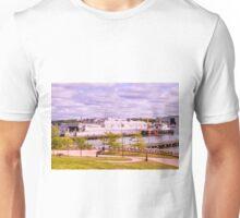Docked At Ft. Trumbull Unisex T-Shirt