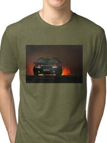 NUTTD8 Tread Cemetery Burnout Tri-blend T-Shirt