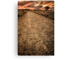 Hell Path Canvas Print