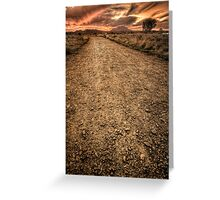 Hell Path Greeting Card