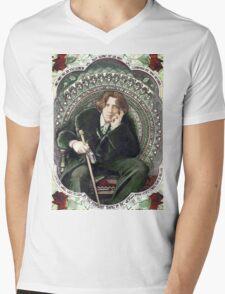 Oscar Wilde 2 Mens V-Neck T-Shirt