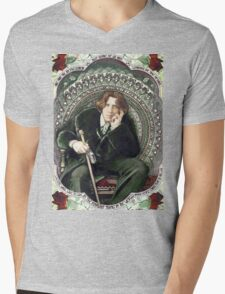 Oscar Wilde 2 Mens V-Neck T-Shirt