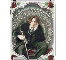 Oscar Wilde 2 iPad Case/Skin