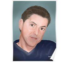 Skot Schuler - Fellow Bubbler portrait Poster