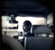 Minibus driver, Hong Kong by Cara Gallardo Weil