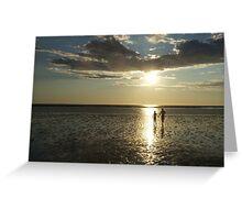 Broome, Western Australia, Sunset Greeting Card