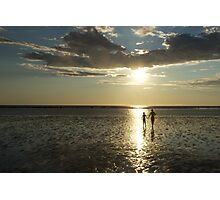 Broome, Western Australia, Sunset Photographic Print