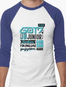 GOT7 Collage Men's Baseball ¾ T-Shirt