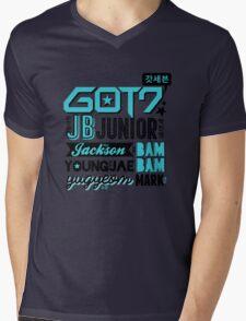 GOT7 Collage Mens V-Neck T-Shirt