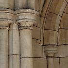 St Matthew's sandstone detail by Justine Armstrong