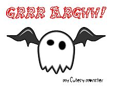 My Cutesy Monster Grrr Argh T Shirt and Hoodie 05 Photographic Print