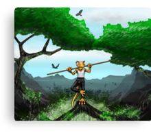 New character Canvas Print