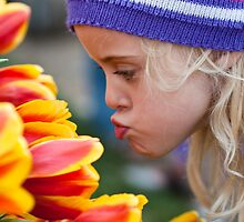 Kissing Tulips by Hege Nolan