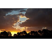 Sunset at Good Forest NSW Photographic Print