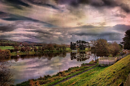 Pendle View Fisheries. by Irene  Burdell