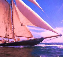 Under Sail by JoeGeraci