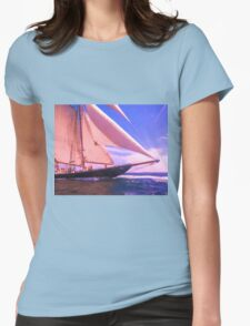 Under Sail Womens Fitted T-Shirt