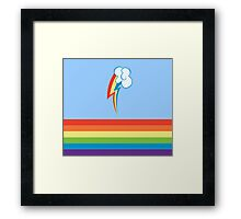 My little Pony - Rainbow Cutie Mark Special Framed Print