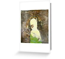 the little flower Greeting Card
