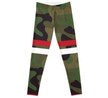 Pattern Fashion Army Camouflage Style Camo  Leggings