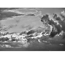 Ship on the Horizon Photographic Print
