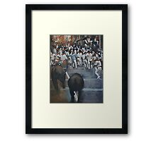 The Bulls Revenge Framed Print