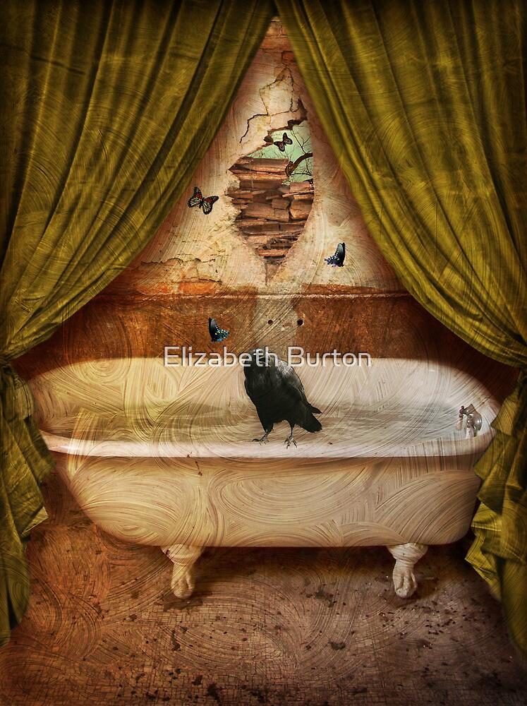 "Quote The Raven ""Never More"" by Elizabeth Burton"