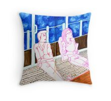 Sketch 17 ... the world is changing and we are oblivious Throw Pillow