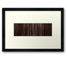 Moviebarcode: The Godfather: Part III (1990) Framed Print