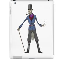 Skeleton-1800s iPad Case/Skin