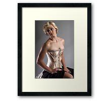 Corsetry I Framed Print