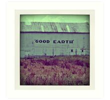 good earth Art Print
