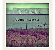 good earth Photographic Print